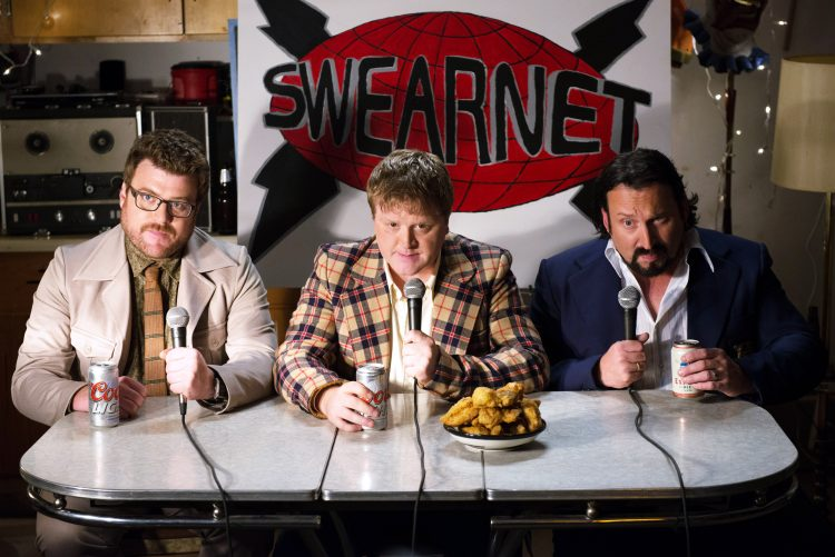 Robb Wells, Mike Smith & JP Tremblay launch SwearNet!