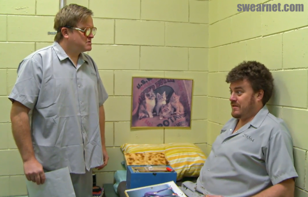 Ricky and Bubbles in Jail