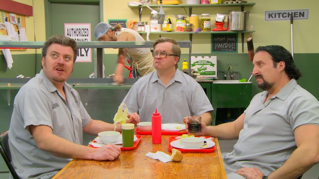 Trailer Park Boys 8.5 - Ricky, Julian and Bubbles in jail cantees
