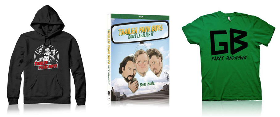 Trailer Park Boys official store new year sale