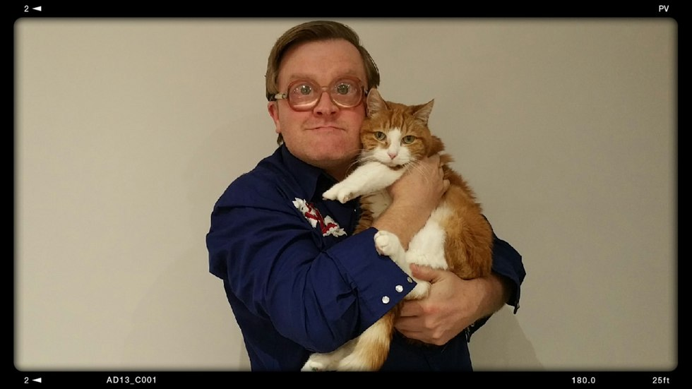 Bubbles & Vince the Pince raise money for kitties
