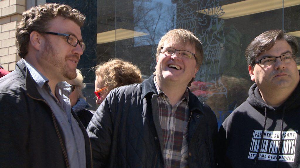 Trailer Park Boys at rally to save Nova Scotia film industry