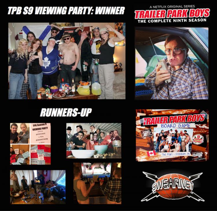 Trailer PArk Boys Season 9 party winners