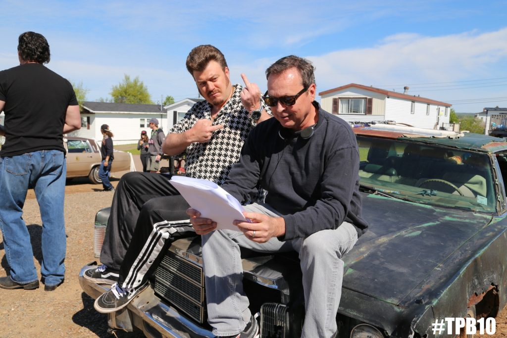 Bobby Farrelly directs Ricky in Trailer Park Boys S10