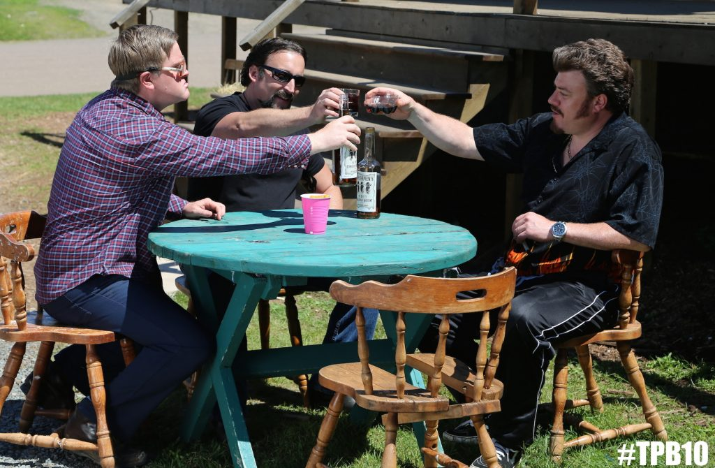 Ricky, Julian & Bubbles celebrate Canada Day