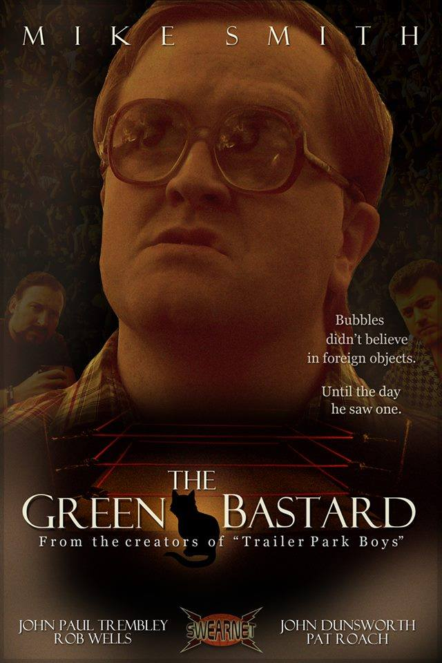 Mike Smith is the Green Bastard - TPB fan art movie poster
