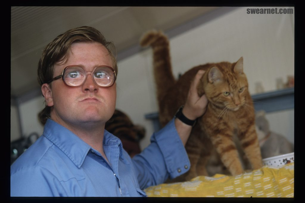 Bubbles and his kitties