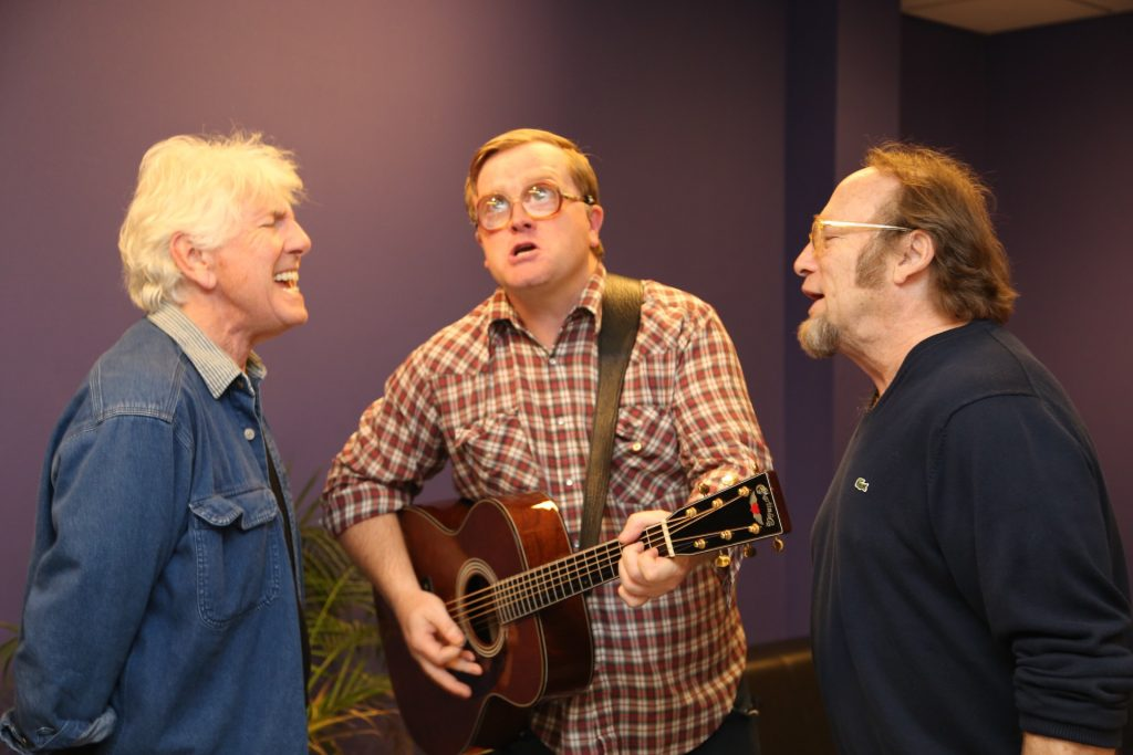 Bubbles sings Liquor and Whores with Stills & Nash!