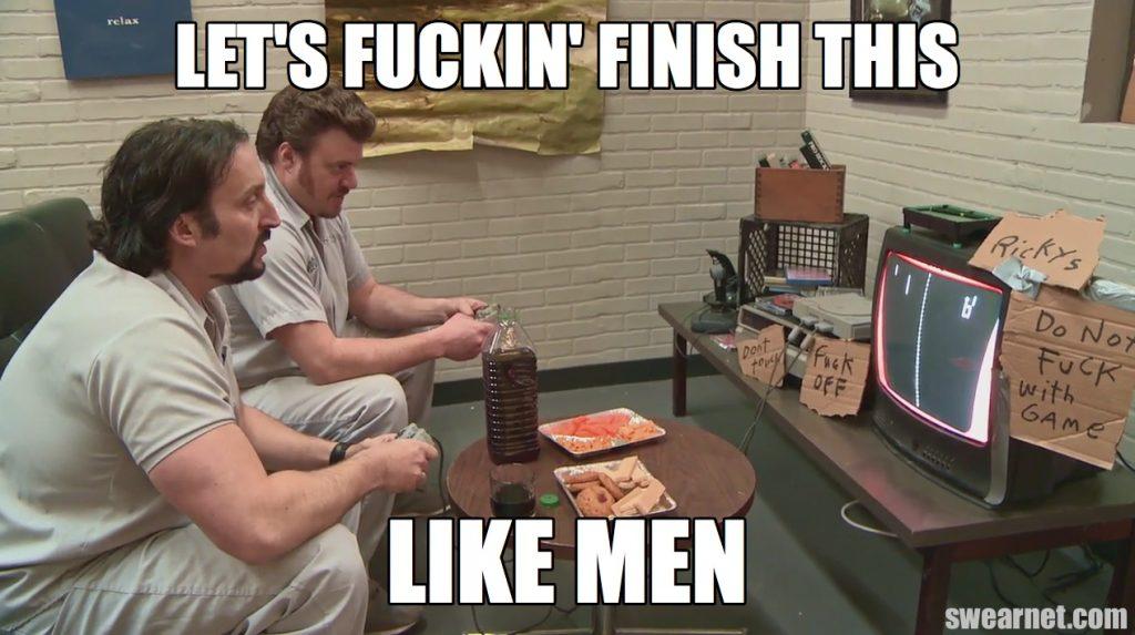 Trailer Park Boys 8.5: Ricky and Julian play Pong