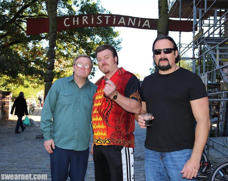 Trailer Park Boys in Christiania, Denmark