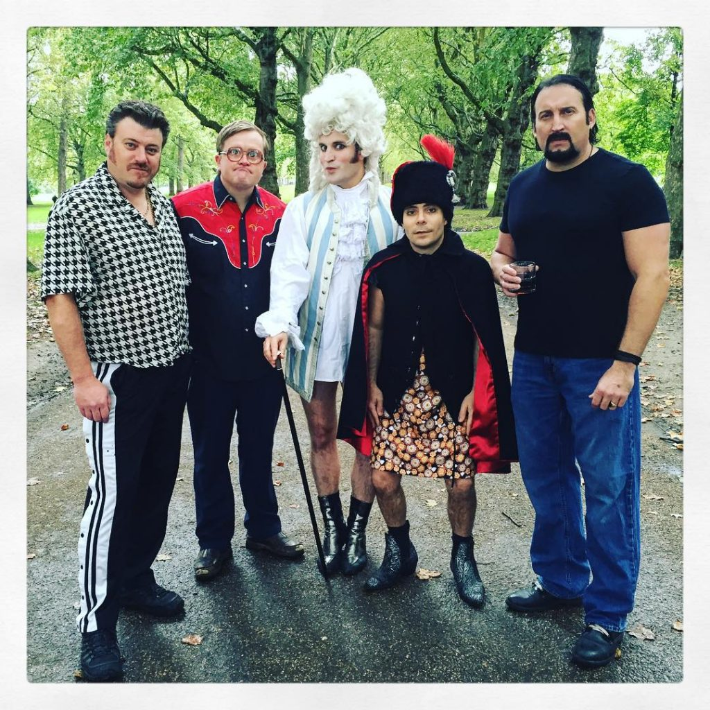 Trailer Park Boys meets The Mighty Boosh!