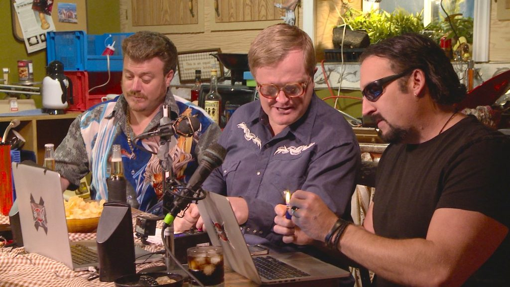 Trailer Park Boys chat to Snoop Dogg