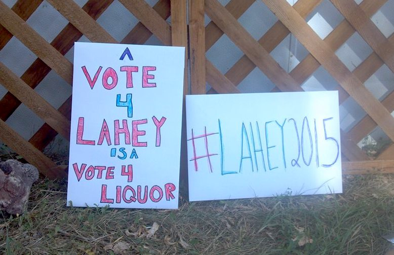 #lahey5015 election campaign