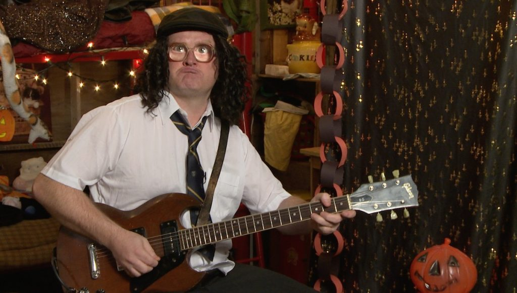 Guitar Lessons With Bubbles AC/DC Halloween Special at SwearNet