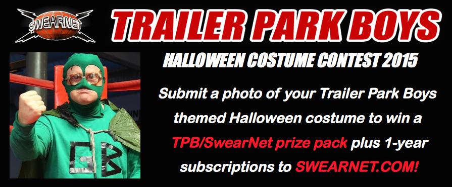 Trailer Park Boys Halloween costume contest
