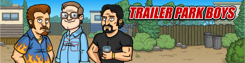 Trailer Park Boys mobile game app for iOS and Android