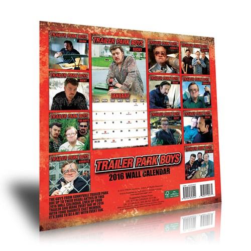 Trailer Park Boys 2016 calendar now in stock