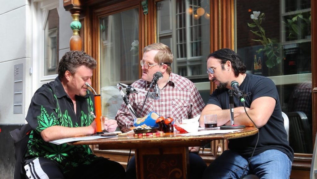 The Trailer Park Boys get high in Amsterdam for the TPB Podcast!