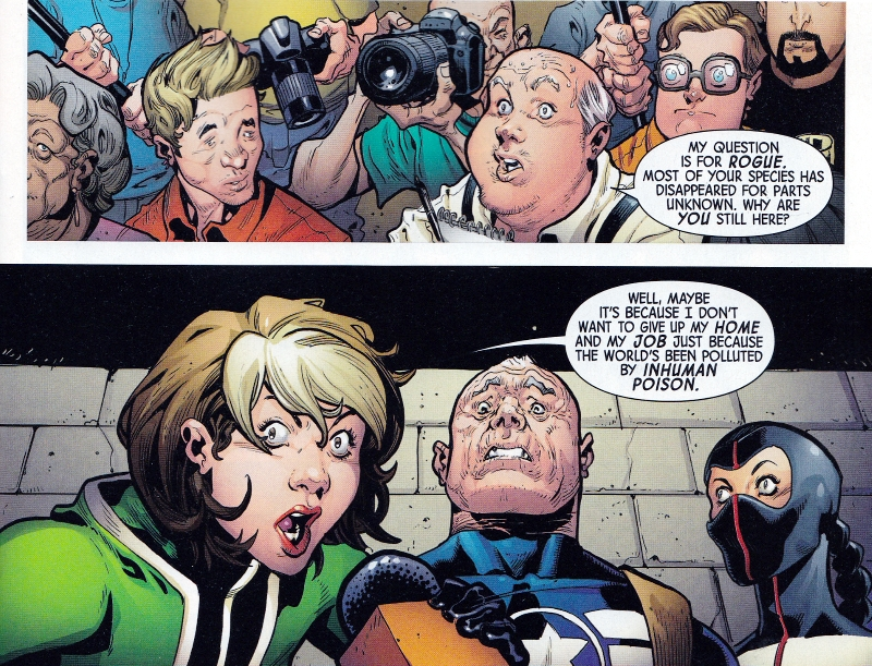 Uncanny Avengers with Bubbles and Julian