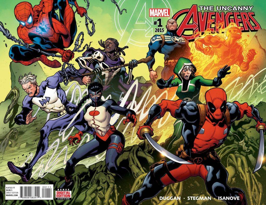 Uncanny Avengers Marvel #1 2015