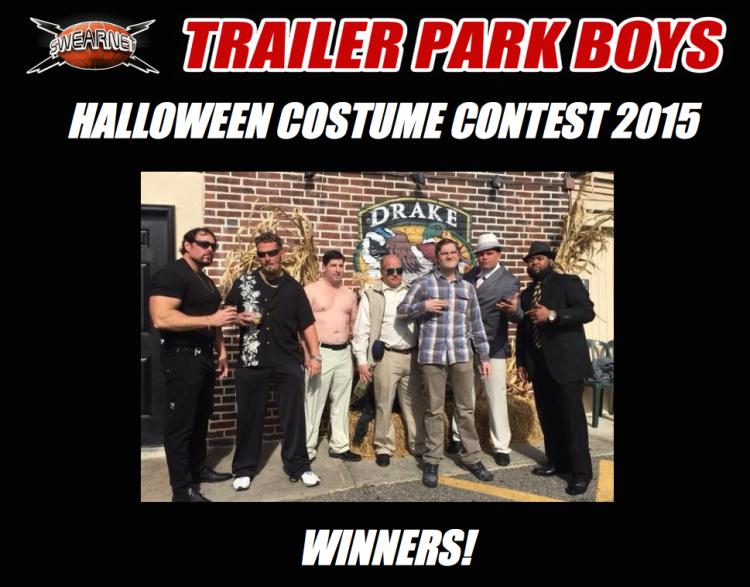 Trailer Park Boys Halloween costume contest winners
