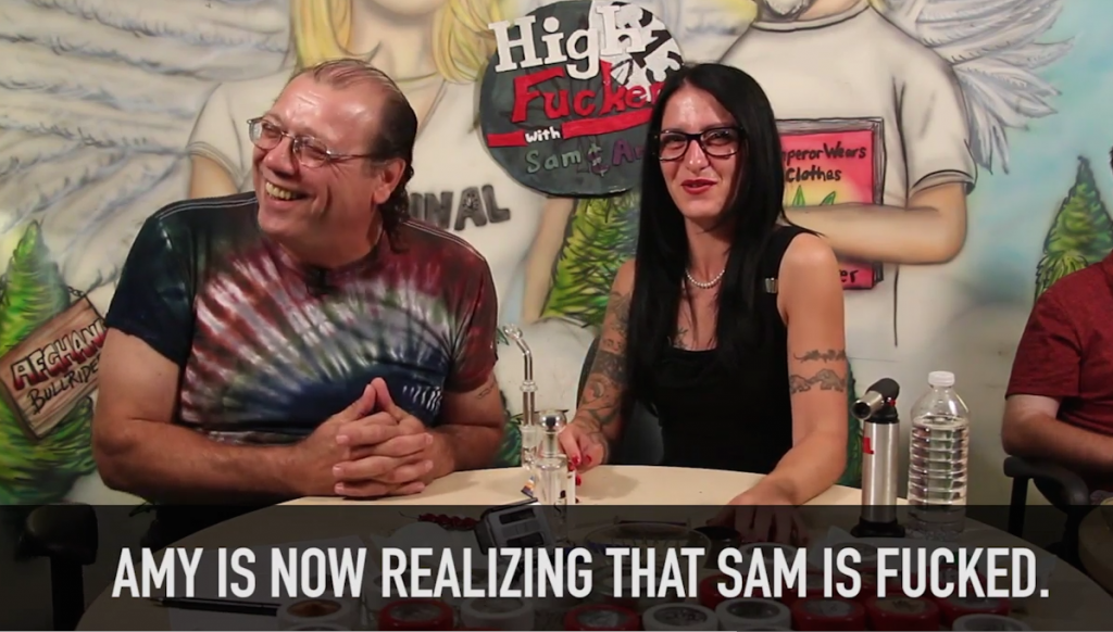 High Fuckers with Sam & Amy at swearnet.com