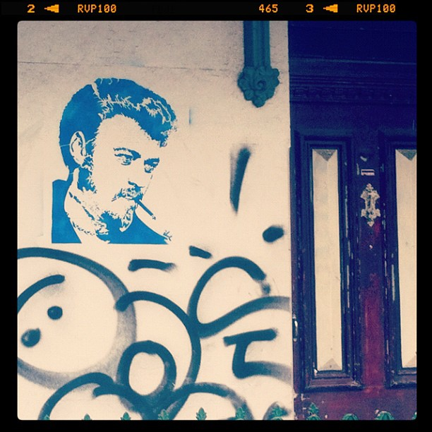 Ricky street art, Sydney Australia