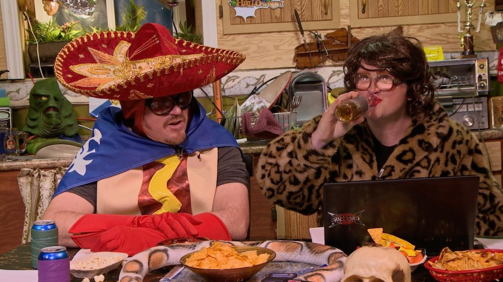 Ricky & Bubbles dress up for Halloween on the Trailer Park Boys Podcast