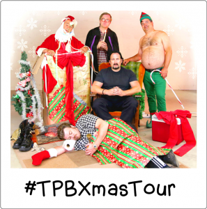 Enter the #TPBXmasTour contest and win a swearnet.com subscription