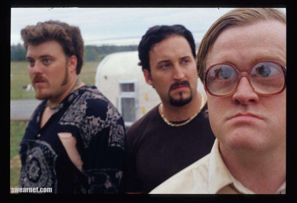 Ricky, Julian and Bubbles from Trailer Park Boys Season 2
