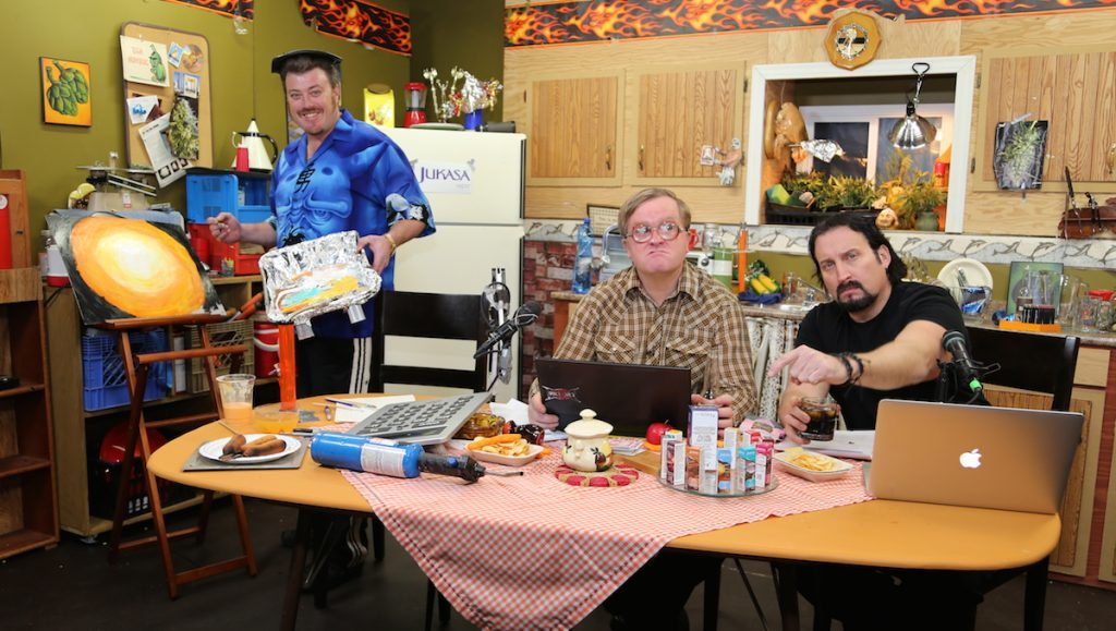 Trailer Park Boys get arty as fuck on this week's TPB Podcast!