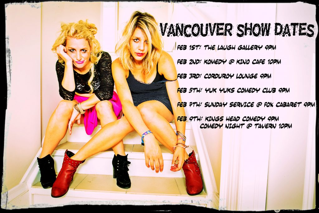 Cheap Smokes comedy duo is coming to Vancouver