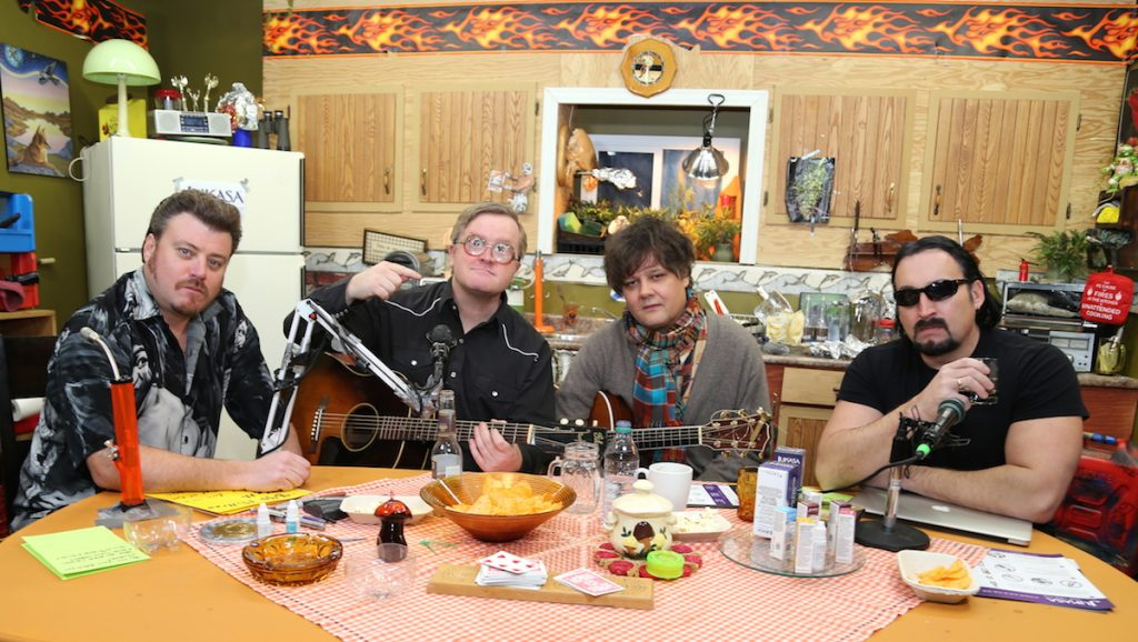 Ron Sexsmith on the Trailer Park Boys Podcast
