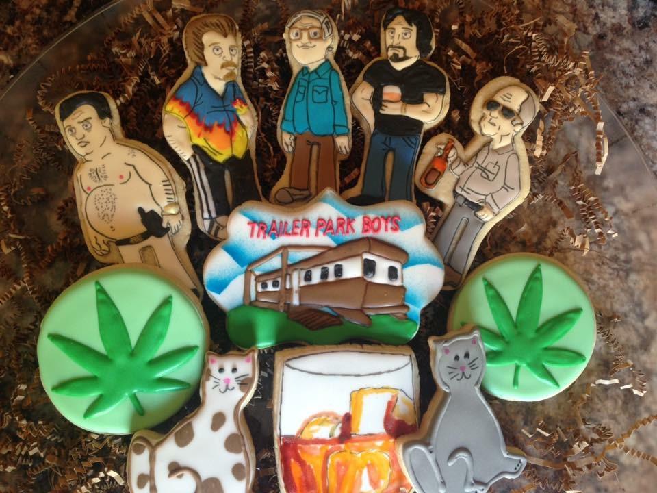Trailer Park Boys cookies!