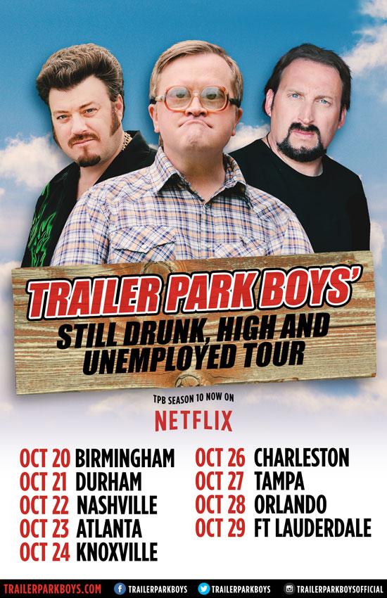Trailer Park Boys US tour 2016