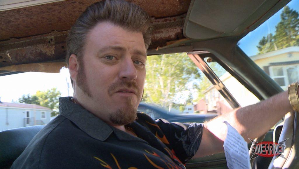 Ricky in the Shitmobile
