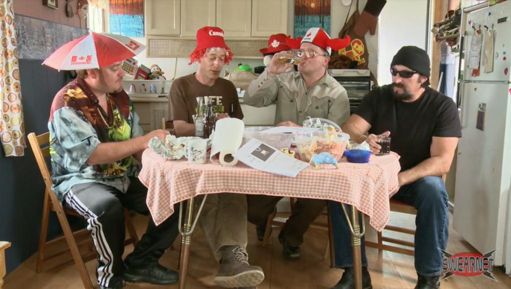 The Boys celebrate Canada Day