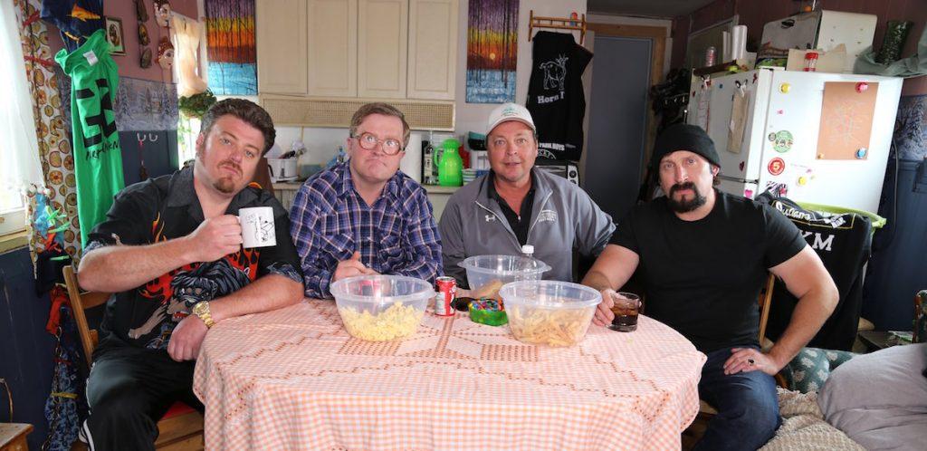 Ricky, Bubbles, Bobby Farrelly, and Julian!