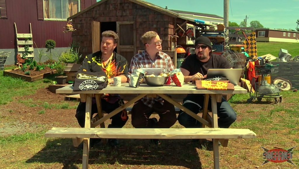 Trailer Park Boys Podcast from Bubbles' shed!