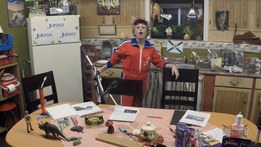 Greasy SwearNet janitor Jean Marie