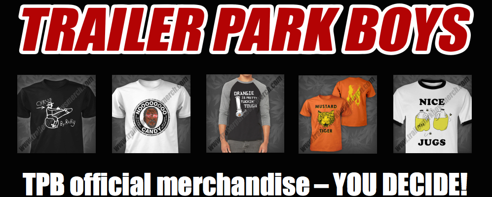Vote for your favourite Trailer Park Boys t-shirt and win!