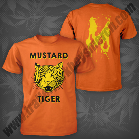 The Mustard Tiger is the winner of our t-shirt contest!