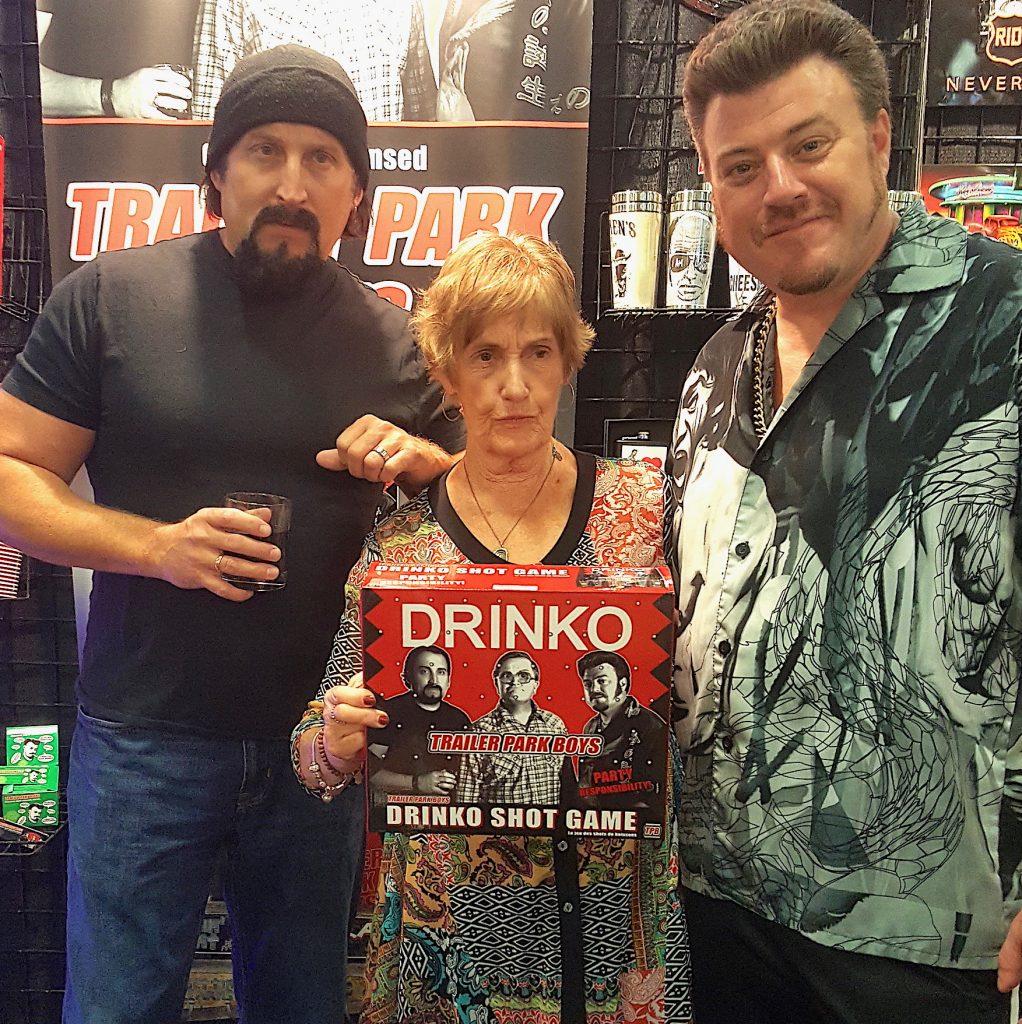 Ricky, Julian and Drinko game