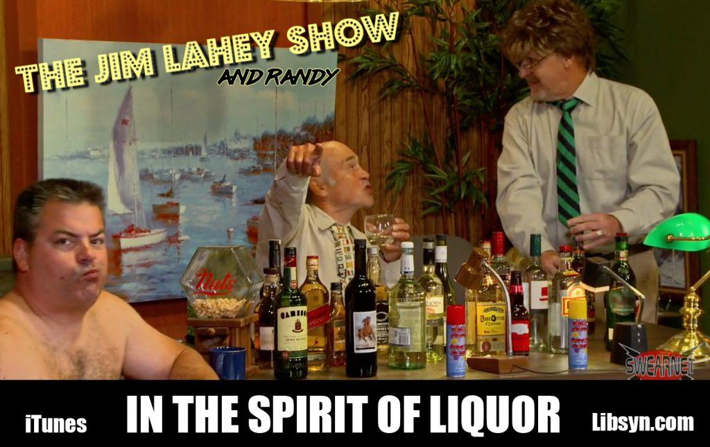 Lahey is sampling the world's liquors
