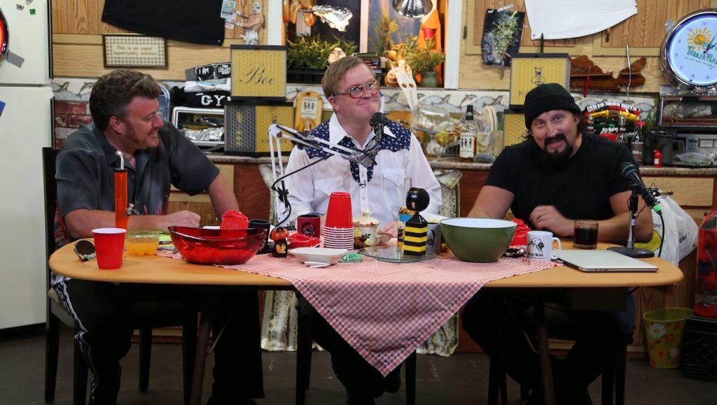 The Boys at Ricky's table