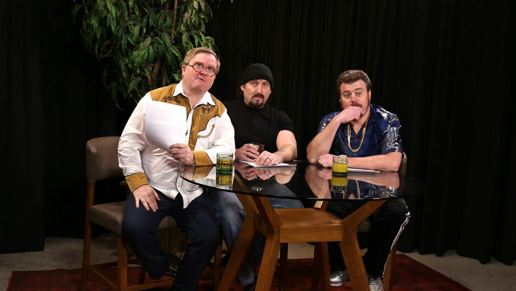 Ricky and Bubbles join the set of Dear Julian