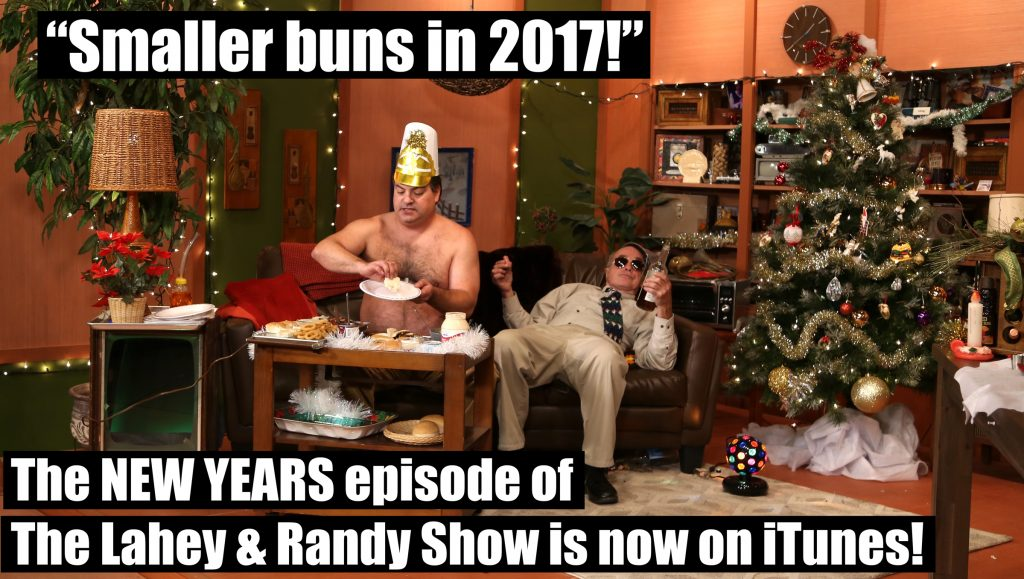 Lahey and Randy are celebrating New Year's Eve