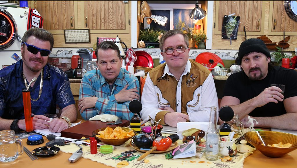 Bruce McCulloch from Kids in the Hall joins Ricky, Julian, and Bubbles on the Trailer Park Boys Podcast!
