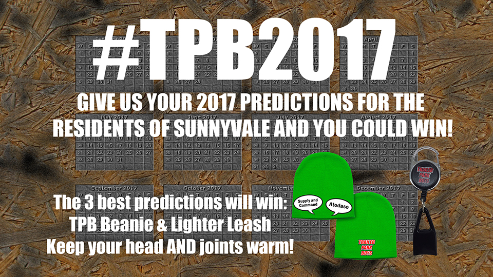 Trailer Park Boys New Years Predictions 2017