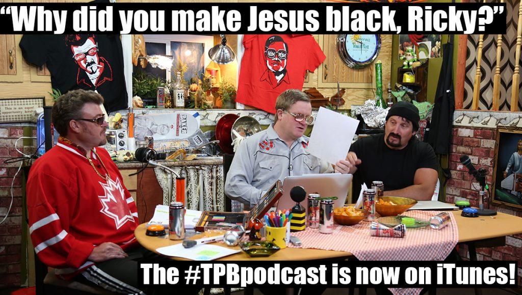 Ricky portrays Jesus as black